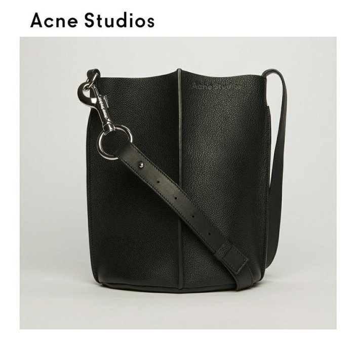 Acne Studios ►market  ( 黑色 ) 肩背包 斜背包 水桶包|100%全新正品