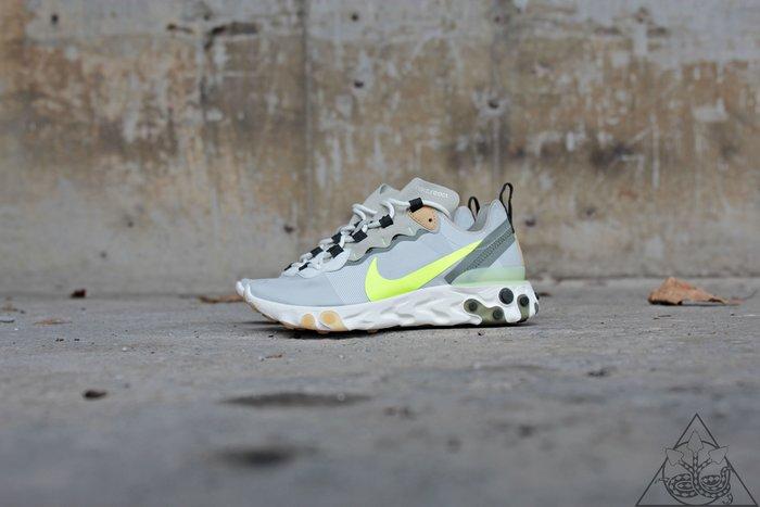 【HYDRA】Nike React Element 55 Release Info 灰綠 休閒鞋【BQ6166-009】