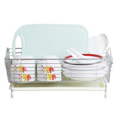 不銹鋼水槽瀝水架洗菜籃子瀝水籃碗碟盤收納架水池置物架廚房用品  快速出貨