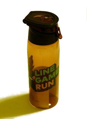 LINE GAME RUN 熊大 兔兔 搶救莎莉 太空瓶 水壺 水杯 水瓶 隨身瓶  全新 限量 台南市