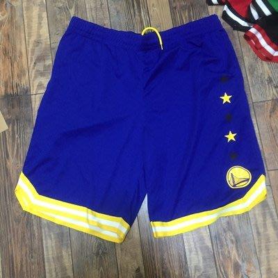 NBA美國代購正品 勇士隊 Jordan 喬丹凱文·杜蘭特 Durant 庫里 Curry  籃球短褲