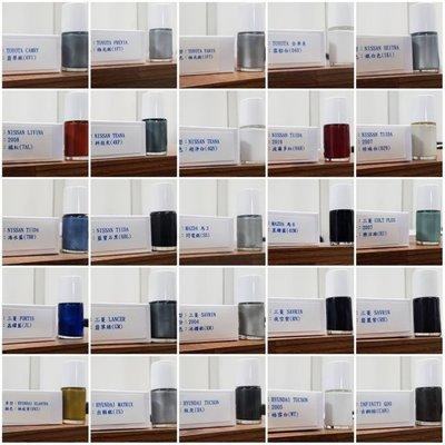 <名晟鈑烤>艾仕得(杜邦)Cromax 原廠配方點漆筆.補漆筆 VW福斯 JETTA 顏色:鈦灰(LD7X)