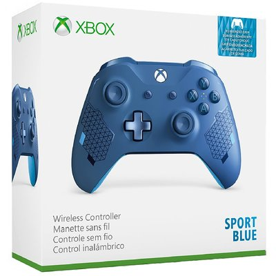 微軟 XBOXONE XBOX ONE S 原廠無線控制器 藍牙 手把 3.5MM耳機孔 寶石藍 運動藍 公司貨