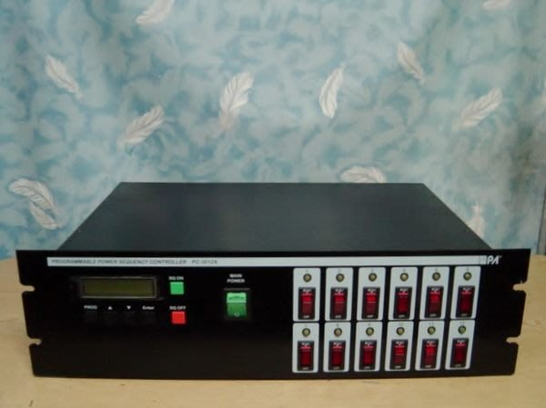 Y【小劉二手家電】PROGRAMMABLE POWER SEQUENCY CONTROLLER電源供應控制器