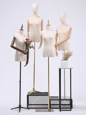熱賣#服裝店模特道具女半身女裝衣服模特...