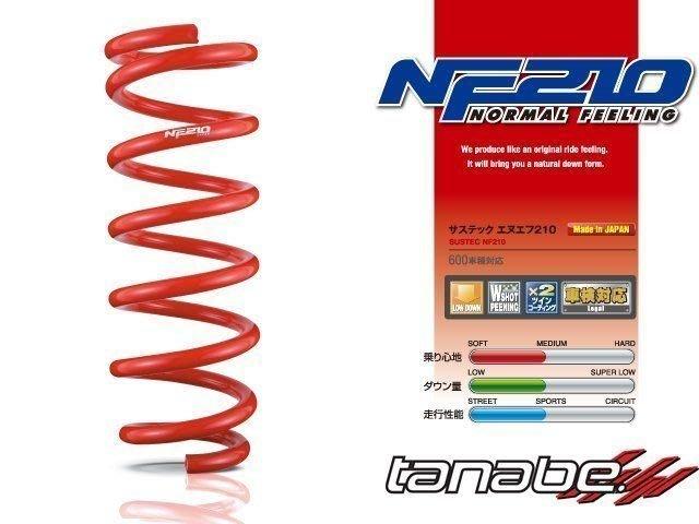 TANABE SUSTEC NF210 短彈簧 TOYOTA RAV4 2019+