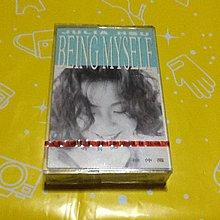 ~謎音&幻樂~  徐仲薇 BEING MYSELF 有EMI唱片封條  全新未拆封 。錄音帶。宣傳片。