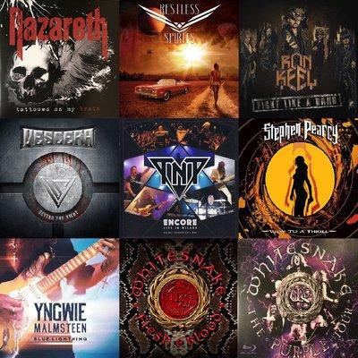 【搖滾帝國】2019.9月最新進口CD專輯大全Hard Rock Heavy Metal 風格 NAZARETH TNT