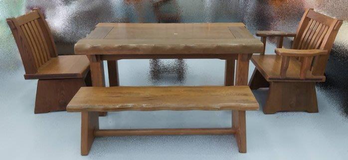 樂居二手家具(北) 便宜2手傢俱拍賣LG81006木頭桌+椅組❋書桌椅 電腦椅 讀書椅 辦公椅 會議椅 洽談桌