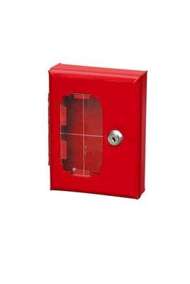 逃生鑰匙箱 緊急應急鑰匙盒 消防鑰匙箱 防火鑰匙盒  全新 卡布奇诺