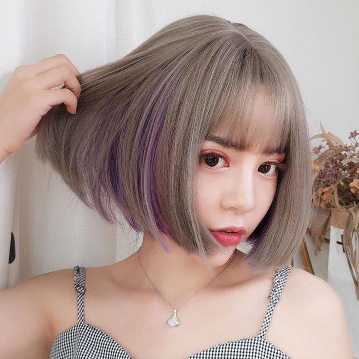 網紅最愛 假髮 時尚 COS 空氣瀏海 BOBO頭【MB520】☆雙兒網☆