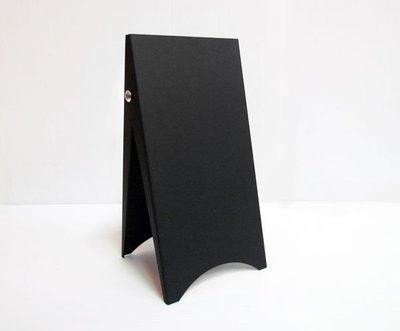 *黑設計*袖珍三角立牌,雙面式桌上型D...