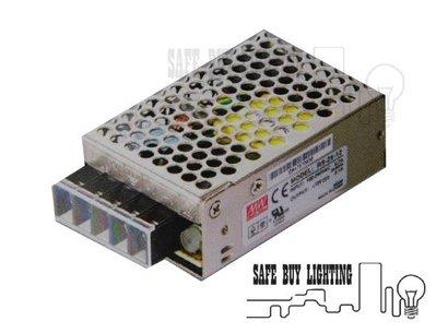 LRS-35-12 12V/24V  3A 35W 明緯 MW 電源供應器