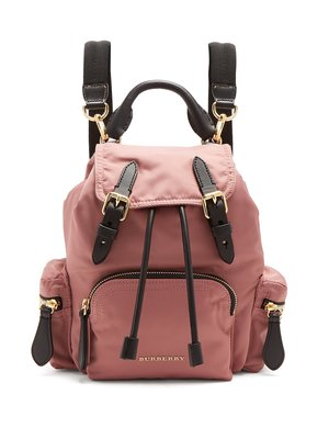 Burberry small rucksack backpack 2018新款 小款 粉色後背包/三背包 全新正品