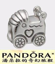 潘朵拉我最便宜{{潘朵拉的奇幻旅程}} PANDORA - Baby Carriage 嬰兒車 790346
