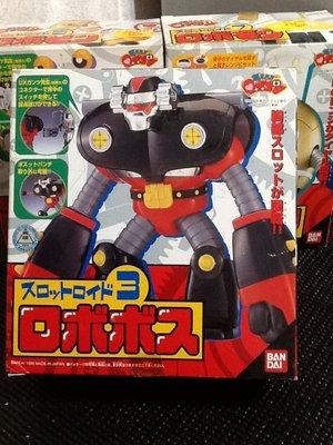 玩具魂`BANDAI出品`日本製小露寶系列之三號金剛機器人`1999年收藏品`少見美品`絕版貨
