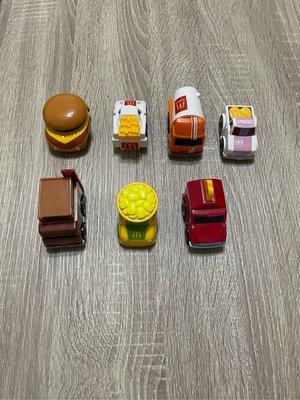 麥當勞玩具 2016年 TOMY CHOROQ 迴力車七款330元{已拆封}