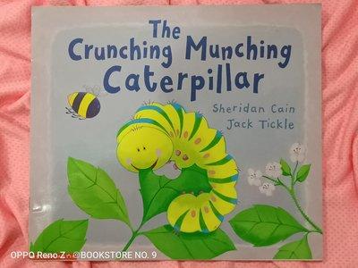 *NO.9 九號書店* The Crunching Munching Caterpillar 英文繪本