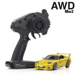 創億RC MINI-Z AWD 頭文字D INITIAL-D MAZDA RX-7 FD3S RTR(32612Y)