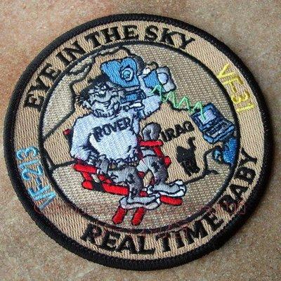 VF-31/VF-213 EyeInTheSky/Real Time Baby 伊拉克戰爭紀念徽章