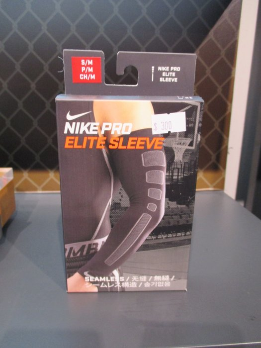 【iSport愛運動】NIKE PRO 運動臂套 全臂護套 無縫 624507-   單包裝一枚入