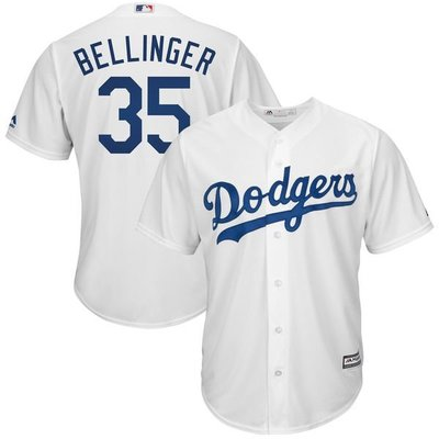 Cody Bellinger Majestic White Cool Base Player Jersey
