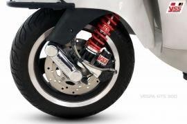 誠一機研YSS 前叉 前避震器 VESPA GTS 300 ABS GTV GT 250 200 改裝 避震 進口 重機