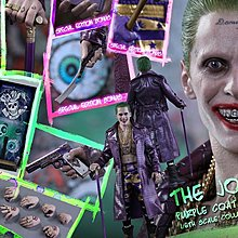 全新 Hot Toys MMS382 自殺特攻隊 小丑 Suicide Squad Joker Purple Coat 會場版