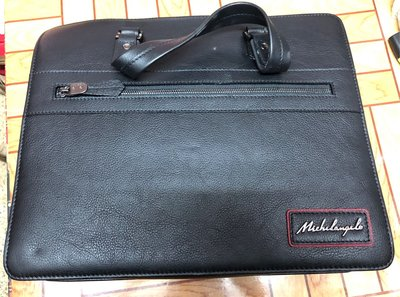michelangelo leather bag 100% 全新