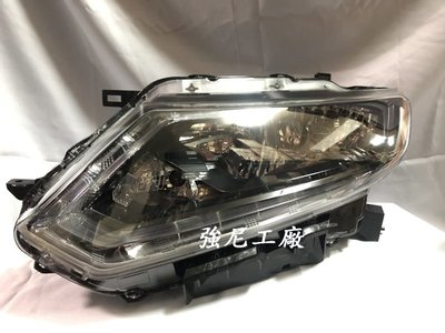 ☆☆☆強尼工廠☆☆☆全新NISSAN X-TRAIL 15 16 17 18年 原廠型 HID對應 LED燈眉 大燈