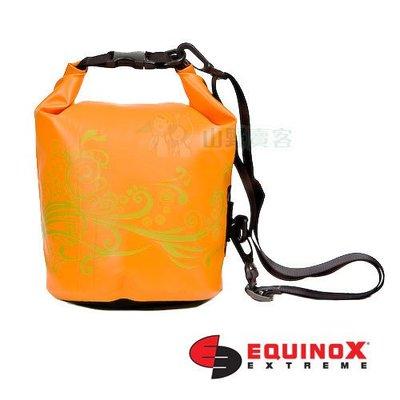 【山野賣客】Equinox 5公升 橙色 浪花 全系列防水袋 潛水 衝浪 游泳 溯溪 泛舟 單車環島 111401
