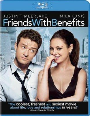 BD 全新美版【FWB好友萬萬睡】【Friends with Benefits】Blu-ray 藍光 蜜拉庫妮絲