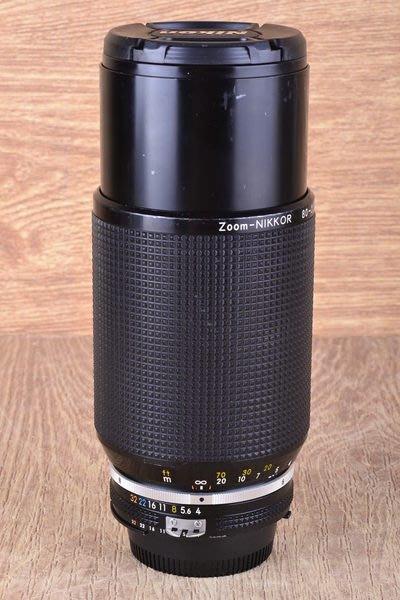 【品光攝影】NIKON AIS 80-200mm F4 (80-200/4) 小小黑 含遮光罩 #31425