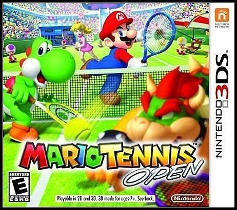 3DS 全新美版【瑪利歐網球】【瑪莉歐網球】公開賽