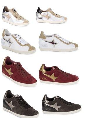 ◎美國代買◎AshGuepard Wedge全麂皮或麂皮與布面雙材質內增高設計楔型休閒鞋~歐美街風~大尺碼