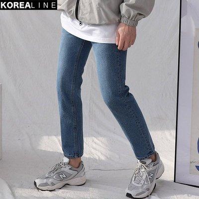 KOREALINE搖滾星球 / 修身直筒牛仔褲 / HNT5670