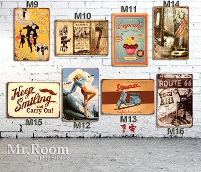 鐵皮畫 工業風 英倫 金屬掛牌 偉士牌 攝影佈置 蛋糕 自由女神 哈雷 廣告鐵牌 重機 廣告刊版 復古風格 電影 廣告