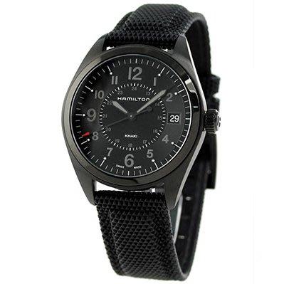 HAMILTON H68401735 漢米爾頓 手錶 40mm FIELD QUARTZ 皮錶帶 男錶女錶