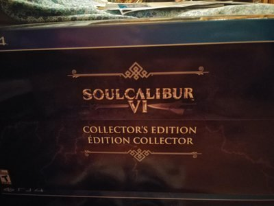 SOUL CALIBUR 6 COLLECTOR'S EDITION