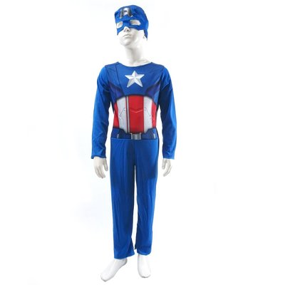 美國隊長 兒童萬聖節Halloween遊行男生變裝造型