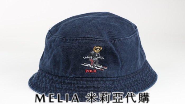 Melia 米莉亞代購 美國店面+網購 Ralph Lauren Polo 潮流帽 漁夫帽 滑雪小熊刺繡 衝評價
