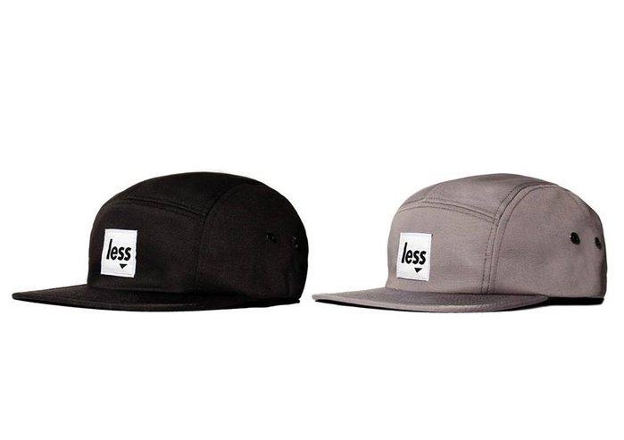 { POISON } LESS SQUARE LOGO CAMP CAP 2015首發LOGO五片帽