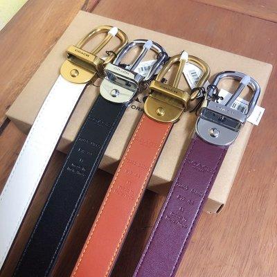 NaNa代購 COACH 72450 72685 新款女士皮帶 腰帶 可雙面使用 附禮品盒包裝 附購證