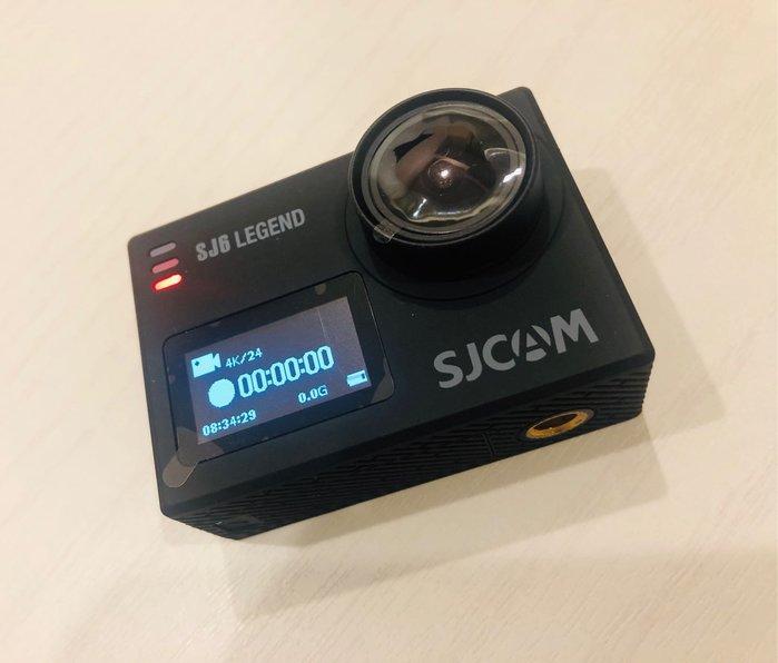 【明豐】SJCAM SJ6  Legend 4K 展示機 保固一年 防水30米 SJ4000 GoPro 小蟻 參考