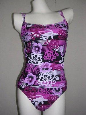 //彩虹屋//花之樂章二件式泳衣~美國品牌SOUTHERN EXPRESSIONS台灣製造