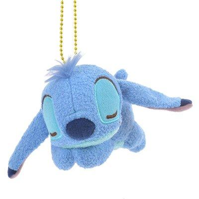 B'Little World * [現貨] 東京迪士尼專賣店限定商品/史迪奇睡覺吊飾/星際寶貝/東京連線