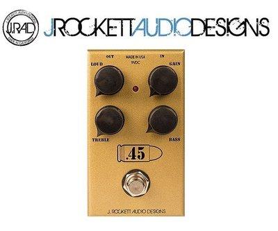 『搖滾通樂器館』J.RAD .45 Caliber 失真效果器/美國製手工品牌/贈導線