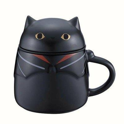 #正貨#現貨 2019星巴克萬聖節 限量 黑貓變裝騎士馬克杯