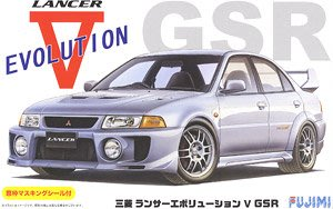 富士美 1/24 拼裝車模 三菱 Lancer Evolution V GSR 03919