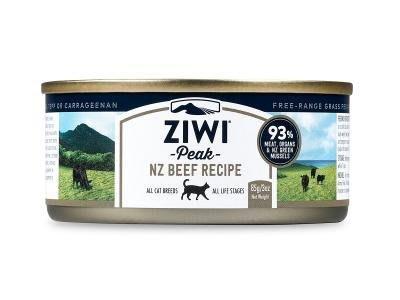 公司貨附發票(免運整箱賣場24罐)台中歡迎自取 紐西蘭ZiwiPeak 巔峰 93%鮮肉貓糧85G-(不含鹿肉)